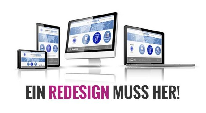Webdesigner Berlin Redesign Website