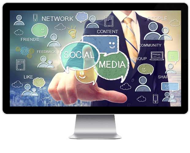 Webdesigner Social Media Internetseite