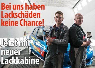 Foto für Teaser Lackkabine Autohaus Buschmann Webseite