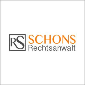 Referenzkunde WordPress Website Schons Rechtsanwalt