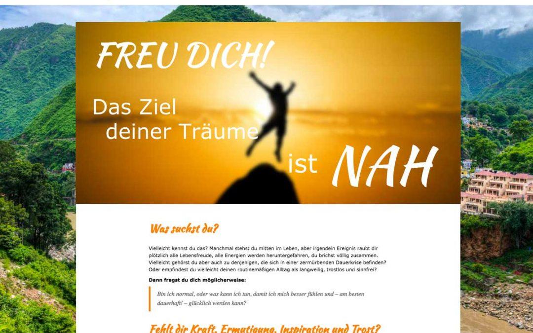 Website Gestaltung für Bhakti-Yoga.eu – die deutsche Website für den indischen Guru Dr. Shri Satyanarayana Dasa Babaji