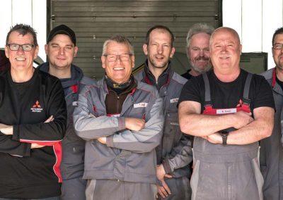 Fotoshooting Team Werkstatt Autohaus Buschmann