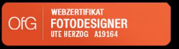Webzertifikat Fotodesigner