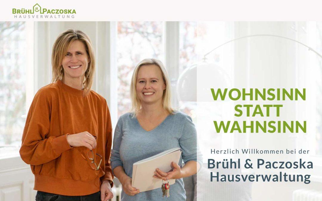 Neue Website für die Hausverwaltung Brühl & Paczoska