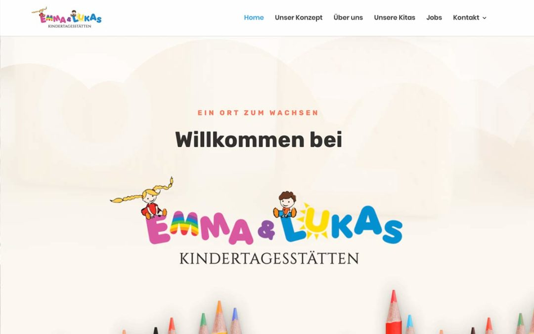 Neue WordPress Website für KiTa