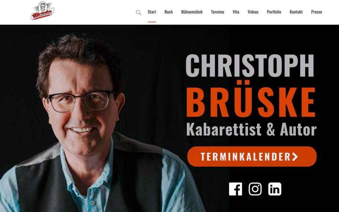 Relaunch WordPress Website Brüske